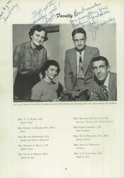 Page 10, 1953 Edition, Needham Broughton High School - Latipac Yearbook (Raleigh, NC) online yearbook collection