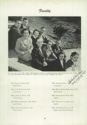 Page 14, 1953 Edition, Needham Broughton High School - Latipac Yearbook (Raleigh, NC) online yearbook collection