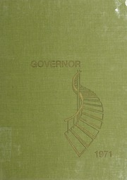 Nelson County High School - Governor Yearbook (Lovingston, VA) online yearbook collection, 1971 Edition, Cover