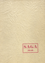 Nelsonville High School - Saga Yearbook (Nelsonville, OH) online yearbook collection, 1940 Edition, Cover