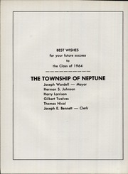 Neptune High School - Trident Yearbook (Neptune, NJ) online yearbook collection, 1964 Edition, Page 182
