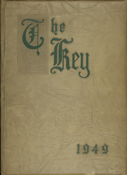 Nerinx Hall High School - Key Yearbook (Webster Groves, MO) online yearbook collection, 1949 Edition, Cover