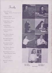 Page 7, 1949 Edition, Nerinx Hall High School - Key Yearbook (Webster Groves, MO) online yearbook collection