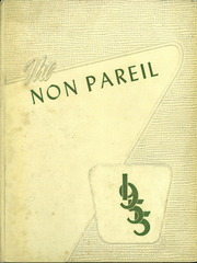 Nether Providence High School - Non Pareil Yearbook (Wallingford, PA) online yearbook collection, 1955 Edition, Cover