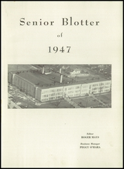 New Albany High School - Senior Blotter Yearbook (New Albany, IN) online yearbook collection, 1947 Edition, Page 5