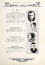 Page 17, 1928 Edition, New Bern High School - Bruin Yearbook (New Bern, NC) online yearbook collection