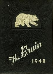 New Bern High School - Bruin Yearbook (New Bern, NC) online yearbook collection, 1948 Edition, Cover