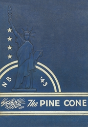New Boston High School - Pine Cone Yearbook (New Boston, TX) online yearbook collection, 1943 Edition, Cover