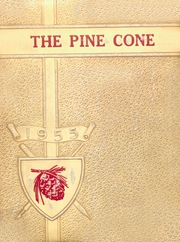 New Boston High School - Pine Cone Yearbook (New Boston, TX) online yearbook collection, 1955 Edition, Page 1