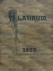 New Brighton High School - Alaurum Yearbook (New Brighton, PA) online yearbook collection, 1925 Edition, Cover