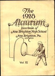 Page 9, 1928 Edition, New Brighton High School - Alaurum Yearbook (New Brighton, PA) online yearbook collection