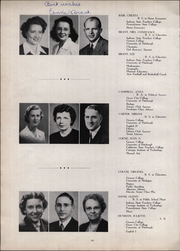 Page 16, 1947 Edition, New Brighton High School - Alaurum Yearbook (New Brighton, PA) online yearbook collection