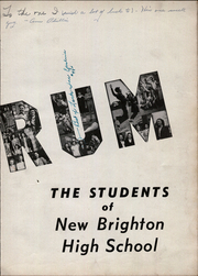 Page 9, 1947 Edition, New Brighton High School - Alaurum Yearbook (New Brighton, PA) online yearbook collection