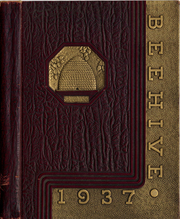 New Britain High School - Beehive Yearbook (New Britain, CT) online yearbook collection, 1937 Edition, Cover