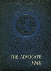 New Brunswick High School - Advocate Yearbook (New Brunswick, NJ) online yearbook collection, 1949 Edition, Cover