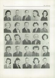 Page 12, 1949 Edition, New Brunswick High School - Advocate Yearbook (New Brunswick, NJ) online yearbook collection