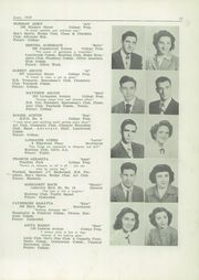 Page 17, 1949 Edition, New Brunswick High School - Advocate Yearbook (New Brunswick, NJ) online yearbook collection
