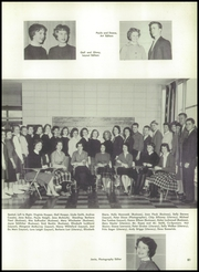 New Canaan High School - Per Annos Yearbook (New Canaan, CT) online yearbook collection, 1959 Edition, Page 85