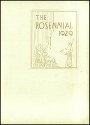 Page 7, 1929 Edition, New Castle Chrysler High School - Rosennial Yearbook (New Castle, IN) online yearbook collection