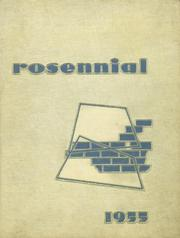 New Castle Chrysler High School - Rosennial Yearbook (New Castle, IN) online yearbook collection, 1955 Edition, Cover