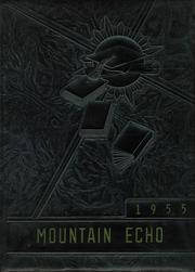 New Castle High School - Mountain Echo Yearbook (New Castle, VA) online yearbook collection, 1955 Edition, Cover