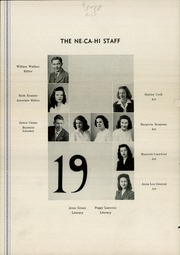 Page 8, 1946 Edition, New Castle High School - Ne Ca Hi Yearbook (New Castle, PA) online yearbook collection
