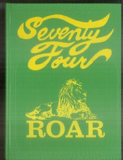 New Deal High School - Roar Yearbook (New Deal, TX) online yearbook collection, 1974 Edition, Cover