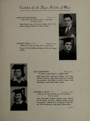 Page 17, 1945 Edition, New England Conservatory of Music - Neume Yearbook (Boston, MA) online yearbook collection