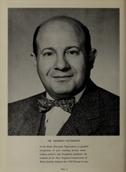 Page 6, 1960 Edition, New England Conservatory of Music - Neume Yearbook (Boston, MA) online yearbook collection