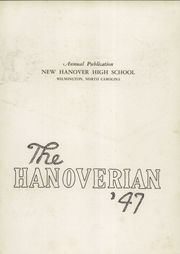 Page 7, 1947 Edition, New Hanover High School - Hanoverian Yearbook (Wilmington, NC) online yearbook collection