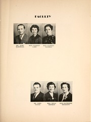 New Haven High School - Mirage Yearbook (New Haven, IN) online yearbook collection, 1939 Edition, Page 17