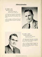 Page 10, 1958 Edition, New Haven High School - Mirage Yearbook (New Haven, IN) online yearbook collection