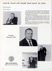 Page 15, 1965 Edition, New Jersey State Teachers College - Seal Yearbook (Trenton, NJ) online yearbook collection