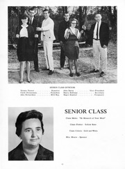 Page 12, 1965 Edition, New Kent High School - Iliad / Cavalier Yearbook (New Kent, VA) online yearbook collection