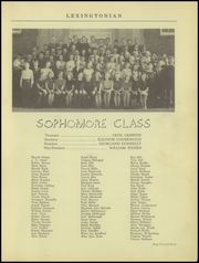 New Lexington High School - Lexingtonian Yearbook (New Lexington, OH) online yearbook collection, 1939 Edition, Page 27 of 48