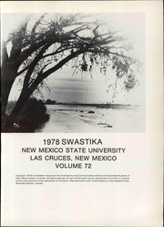 Page 7, 1978 Edition, New Mexico State University - Swastika Yearbook (Las Cruces, NM) online yearbook collection