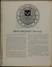 New Orleans (LPH 11) - Naval Cruise Book online yearbook collection, 1976 Edition, Page 6 of 186