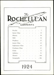 Page 7, 1924 Edition, New Rochelle High School - Rochellean Yearbook (New Rochelle, NY) online yearbook collection