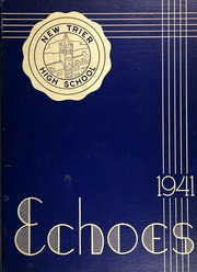 New Trier Township High School - Echoes Yearbook (Winnetka, IL) online yearbook collection, 1941 Edition, Cover
