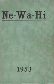 New Washington High School - Ne Wa Hi Yearbook (New Washington, OH) online yearbook collection, 1953 Edition, Cover