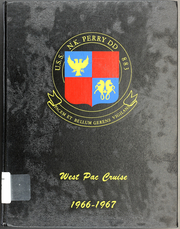 Newman K Perry (DDR 883) - Naval Cruise Book online yearbook collection, 1967 Edition, Cover