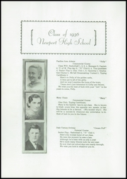 Page 8, 1936 Edition, Newport High School - Live Wire Yearbook (Newport, ME) online yearbook collection