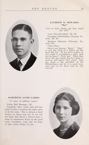 Page 15, 1923 Edition, Newport News High School - Anchor Yearbook (Newport News, VA) online yearbook collection