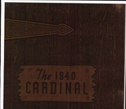 Newton Conover High School - Cardinal Yearbook (Newton, NC) online yearbook collection, 1940 Edition, Cover