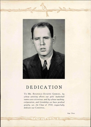 Page 7, 1940 Edition, Newton Conover High School - Cardinal Yearbook (Newton, NC) online yearbook collection