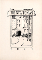 Page 6, 1911 Edition, Newton High School - Newtonian Yearbook (Newton, MA) online yearbook collection