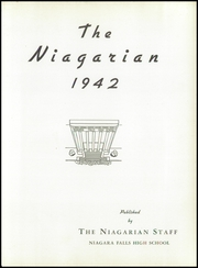 Page 7, 1942 Edition, Niagara Falls High School - Niagarian Yearbook (Niagara Falls, NY) online yearbook collection