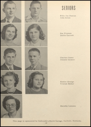 Nicholas County High School - Nicholas Countian Yearbook (Carlisle, KY) online yearbook collection, 1950 Edition, Page 16
