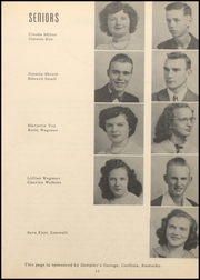 Nicholas County High School - Nicholas Countian Yearbook (Carlisle, KY) online yearbook collection, 1950 Edition, Page 17 of 64