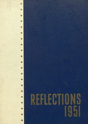 Niles Township High School East - Reflections Yearbook (Skokie, IL) online yearbook collection, 1951 Edition, Cover